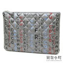 Chanel computer circuit board clutch bag matelasse quilting document case  large porch A82658  24 Computer Large Clutch Leather 9b99b2cfb059c