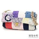 dd1342f79c683 Chanel patchwork chain shoulder bag multicolored flap bag flower motif  A31818  10 Patchwork Flap Bag