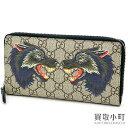 9c3f1d4e3 0208163 1. Sold Out. Gucci double wolf GG スプリームキャンバスジップアラウンドウォレットラウンドファスナー  long wallet ...