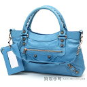 beautiful article  バレンシアガ  BALENCIAGA  giant first blue 12 pink gold studs 2WAY  shoulder editors bag 285433 D94J 4470 GIANT PINK GOLD FIRST BLUE  A ... b96dcf38500fa