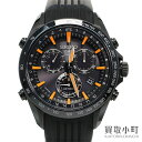 セイコー【SEIKO】アストロン 8Xシリーズ クロノグラフ GPSソーラーウォッチ セラミックベゼル SSブラック硬質コーティング メンズ 男性用腕時計 SBXB017 8X82-0AC0 ASTRON 8X Series Chronograph GPS Solar Watch【ABランク】【中古】