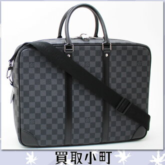 Louis Vuitton N41123 ポルトドキュマン ヴォワヤージュ GM ダミエ グラフィット 2WAY briefcase business bag documents bag men bag PDV GM LV PORTE-DOCUMENTS VOYAGE GM Louis Vuitton %OFF