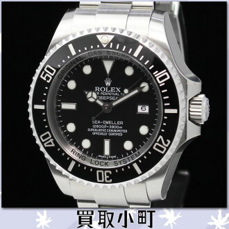 Watch DEEPSEA SEA-DWELLER %OFF for the Rolex 116660 sea Douai al-Radi psi diver's watch 44MM メンズオイスターパーペチュアルオートマティッククロノメータールーレット SS M turn self-winding watch man