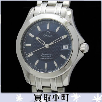 Watch SS self-winding watch blue clockface 2501-81 25018100 SEAMASTER120 DIVERS WATCH %OFF for the omega 2501.81 Cima star 120 automatic men watch divers blue chronometer man