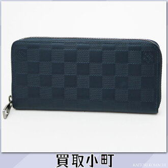 Louis Vuitton N63549 ジッピー ウォレットヴェルティカルダミエ アンフィニコスモスラウンドファスナー long wallet wallet men LV ZIPPY WALLET VERTICAL Damier Infini