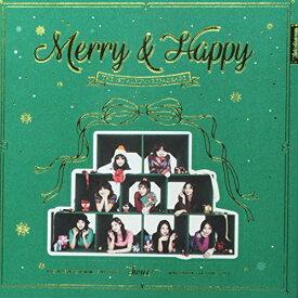 【中古】Twice 1stアルバム リパッケージ - Merry & Happy (ランダムバージョン)/Twice