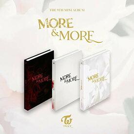 【中古】MORE & MORE(9TH MINI ALBUM/輸入盤)/TWICE