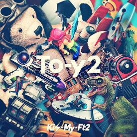 【中古】To-y2(CD+DVD)(初回盤B)/Kis-My-Ft2