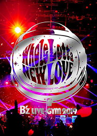 【中古】B'z LIVE-GYM 2019 -Whole Lotta NEW LOVE- (Blu-ray)/B'z