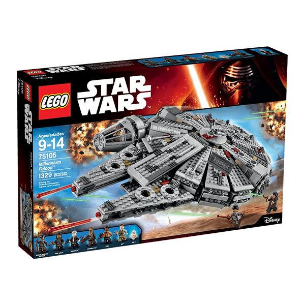 LEGO Star Wars【レゴ スターウォーズ エピソード7 ミレニアム・ファルコン Millennium Falcon 75105 1330ピース】