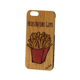 Case Yard【 ウッド iPhoneケース / Fries Before Guys フライズ ビフォアー ガイズ / iPhone6 iPhone7 iPhone7plus / チェリーウッド 】
