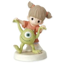 "Precious Moments【 ディズニー ピクサー Disney Pixar / モンスターズインク ブー マイク / フィギュア 置物 ビスクドール 陶器人形 / ""Eye Love You"" 】"