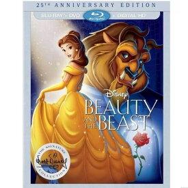 ブルーレイ ディズニー 美女と野獣 25th アニバーサリー エディション / DVD デジタル / Disney ビューティー アンド ザ ビースト