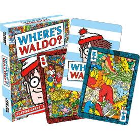 カードゲーム トランプ ウォーリーを探せ 52-573 アクアリウス Where's Waldo?