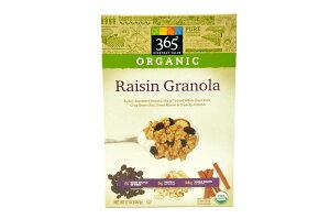 365 Everyday Value【365 エブリデーバリュー オーガニックグラノーラ レーズン 482g(17oz) 】ORGANIC Granola Rasin