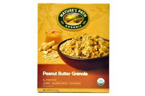 NATURE'S PATH【ネイチャーズ パス オーガニック ピーナッツ バターグラノーラ 325g (11.5oz)】Peanut Butter Granola
