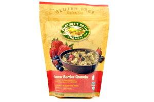 NATURE'S PATH【ネイチャーズ パス オーガニック サマー ベリーズ グラノーラ 312g(11oz)】Organic Summer Berries Granola
