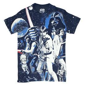 ユニセックス Tシャツ STAR WARS スターウォーズ Tシャツ WAR OF WARS SWSR560 ネイビー