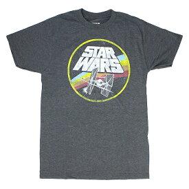 ユニセックス Tシャツ STAR WARS スターウォーズ Tシャツ CIRCLE FIGHT サークルファイト SWSR948 チャコールヘザー