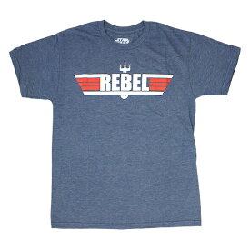 ユニセックス Tシャツ STAR WARS スターウォーズ Tシャツ MAVERICK SWSRDKK ネイビーヘザー