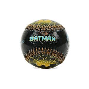 Batman【バットマン 野球ボール イエローロゴ 黒】