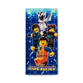LEGO Beach Towel 【 ビーチタオル / レゴ ワーナーブラザーズ / ブルー × マルチカラー】