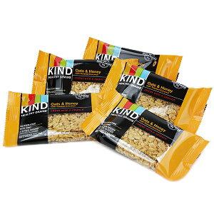 KIND Healthy Grains【カインド ヘルシーグレインオーツ&ハニー with ココナッツ グラノーラバー 5個入り】