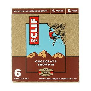 CLIF BAR【クリフバー エナジーバー チョコレートブラウニー味 6本入り】