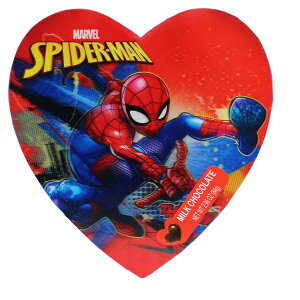 バレンタイン 限定 MARVEL【 GALERIE × スパイダーマン ハート型缶入り ミルクチョコレート / マーベル 】