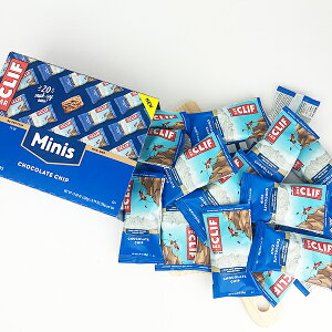 CLIF BAR 【 クリフバー / ミニ エナジーバー / チョコレートチップ味 / 20本入り】