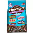 バラエティー ミニ チョコレート フェイバリット MINIサイズ 3Musketeersなど5種類 40oz(1134g)
