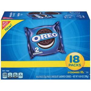 オレオ チョコレート サンドウィッチ クッキー 18袋入り 14.04oz 398g Nabisco