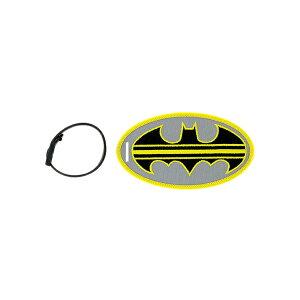 DC Comics 【DCコミックス / ラゲージタグ 名札 / バットマン ロゴ LT-DC-0003 ストライプデザイン / イエロー×ブラック】