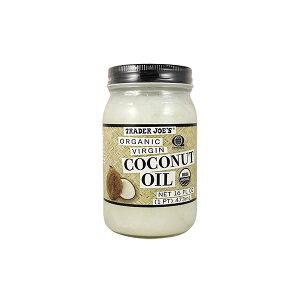 トレーダージョーズ オーガニック バージン ココナッツオイル 16oz(473ml) Trader Joe's Organic Virgin Coconut Oil