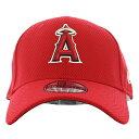 ☆ポイント2倍☆ ニューエラ MLB 39THIRTY 11403333 ロサンゼルス エンジェルス 野球帽 キャップ レッド New Era ダイアモンド エラ …
