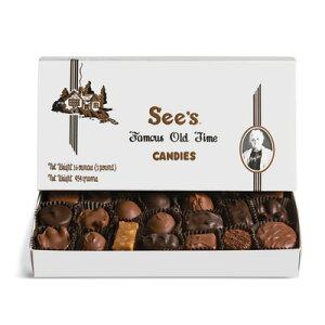 See's Candies【 シーズキャンディ チョコレート 詰め合わせ 454g】