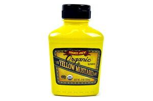 Trader Joe's 【トレーダージョーズ オーガニック イエロー マスタード 9oz(255g) 】Organic Yellow Mastard 9oz(255g)