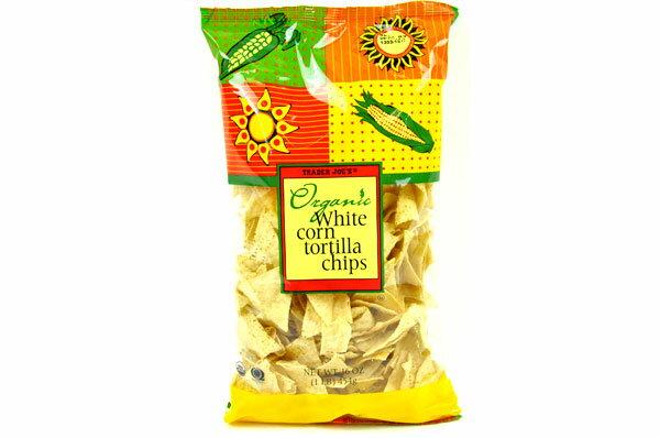 Trader Joe's 【トレーダージョーズ オーガニック ホワイトコーンチップス 12 oz (340g)】Organic White Corn Tortilla Chips