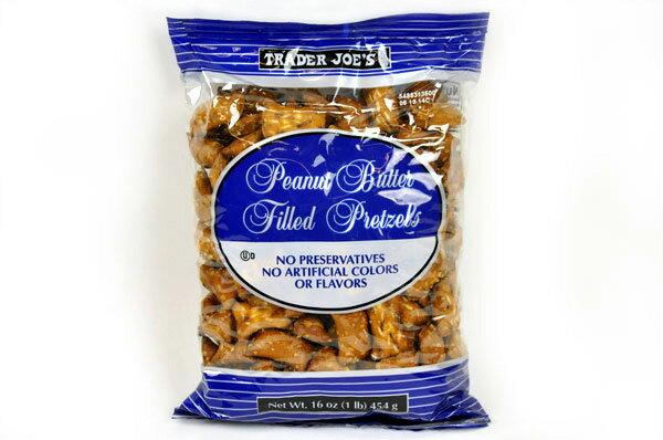 Trader Joe's 【トレーダージョーズ ピーナッツバター フィルド プレッツェル 16oz(454g)】Peanutsbutter Filled Pretzels