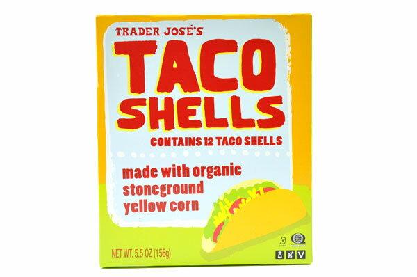 Trader Joe's【トレーダージョーズ オーガニック タコス用シェル12枚入り】Organic Taco Shells