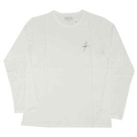 アニエスベー オム Tシャツ 4366-SCT4 agnes b. HOMME メンズ 長袖 丸首 エクレール ホワイトxブラック サイズ2
