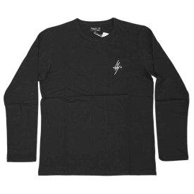 アニエスベー オム Tシャツ 4366-SCT4 agnes b. HOMME メンズ 長袖 丸首 エクレール ブラックxホワイト サイズ2