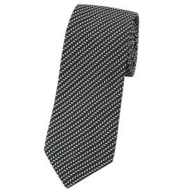 アルマーニ ネクタイ 360054 メンズ ジョルジオ アルマーニ ジャガード デザイン シルク/コットン ブラック/ホワイト 30125 あす楽対応