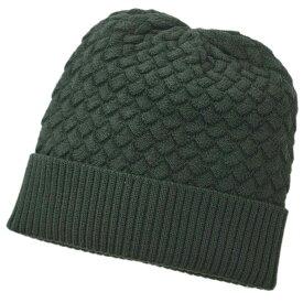 【新品】 ボッテガ ヴェネタ 帽子 500396-4V206-3002 ニットキャップ ウール100% ダークグリーン S/M/L アウトレット
