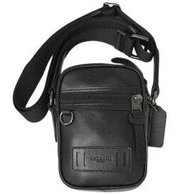 【新品】 コーチ バッグ F72963-QB/BK メンズ ショルダーバッグ ミニ マチ付き テレイン クロスボディ ブラック アウトレット