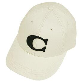 コーチ 帽子 F75703-CHK COACH キャップ ヴァーシティー C チョーク アウトレット キャッシュレスで5%還元!