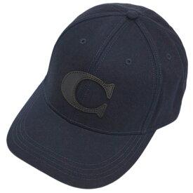 コーチ 帽子 F75703-NAV COACH キャップ ヴァーシティー C ネイビー アウトレット キャッシュレスで5%還元!