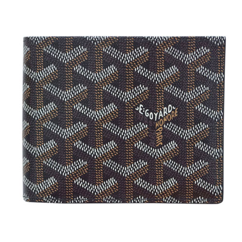 ハロウィン クーポン♪ ゴヤール 財布 GOYARD メンズ 二つ折り小銭付き財布 ST FLORENTIN ブラック APM11001