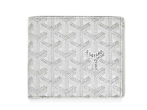 ハロウィン クーポン♪ ゴヤール 財布 GOYARD メンズ 二つ折り小銭付き財布 ST FLORENTIN ホワイト APM11050