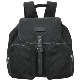 【新品】グッチ バッグ 510343-1000 GUCCI リュックサック バックパック 2ポケット グッチッシマ ライト ナイロンブラック アウトレット
